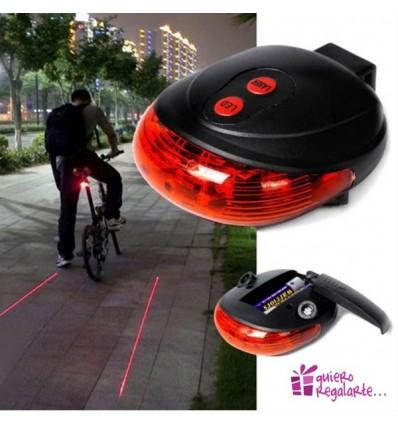 Luz carril bici virtual