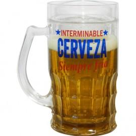 Jarra de cerveza del congelador interminable