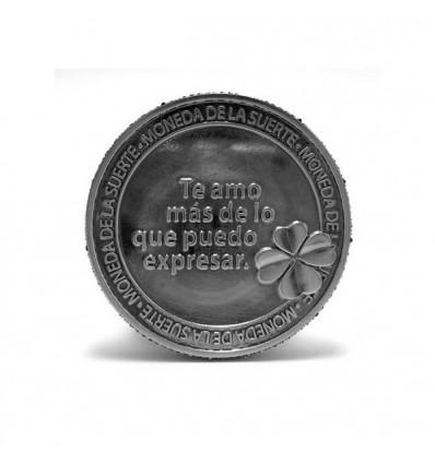 Moneda te amo corazón.