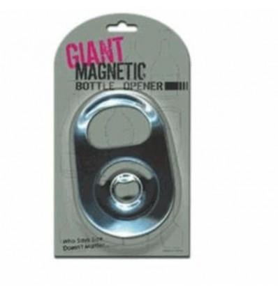 Abrebotellas gigante magnético