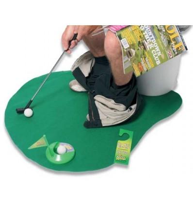 Golf en el baño