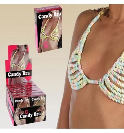 Sujetador de caramelo