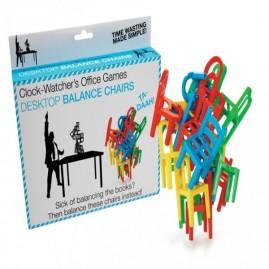 Juego de equilibrio sillas