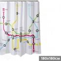"""Cortina de baño """"Metro"""""""