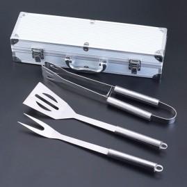 Set de barbacoa con 3 utensilios