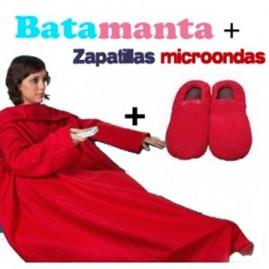 """Conjunto """"Batamanta y zapatillas microondas rojas"""""""