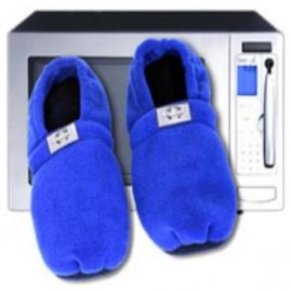 Zapatillas microondas azul
