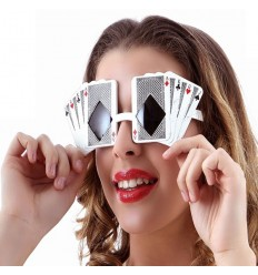 Gafas poker face
