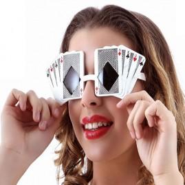 Gafas poker face