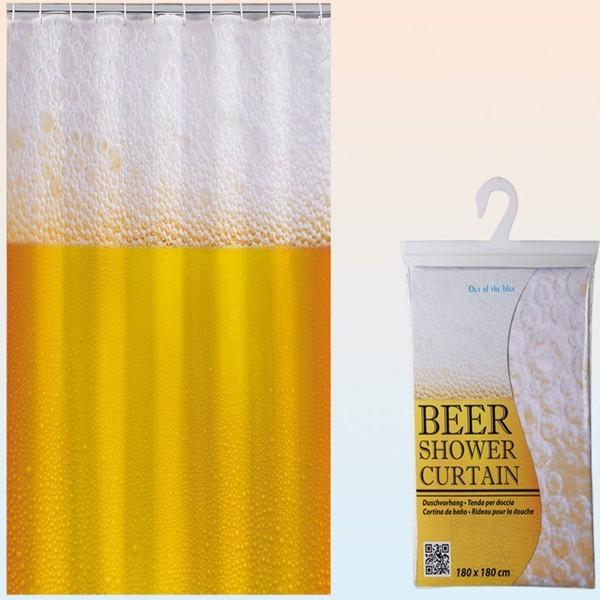Cortina de ba o cerveza quiero regalarte tu tienda de for Cortinas bano originales
