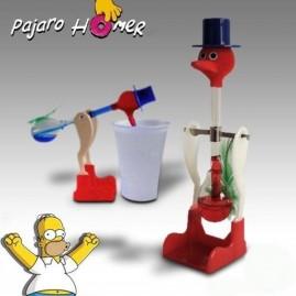 Pájaro bebedor compañero de Homer Simpson