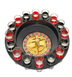 Juego ruleta de chupitos