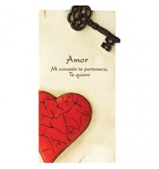 """Arte en piedra """"Amor"""""""