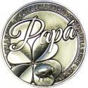 Moneda de la suerte Papa.