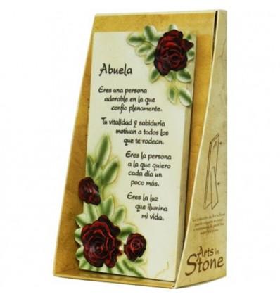 Arte en piedra abuela