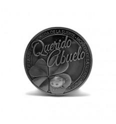 Moneda de la suerte Querido Abuelo