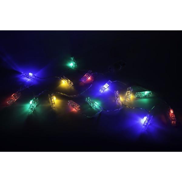 Pinzas y letras con luces led de colores quiero - Luces led de colores ...