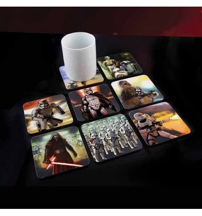 Posavasos en 3 dimensiones Star Wars Episodio VII