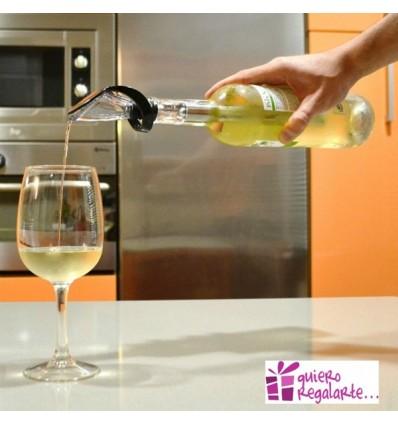 Enfriador y decantador para vinos