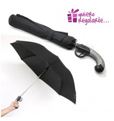 Paraguas pistola