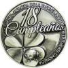 Moneda 18 cumpleaños