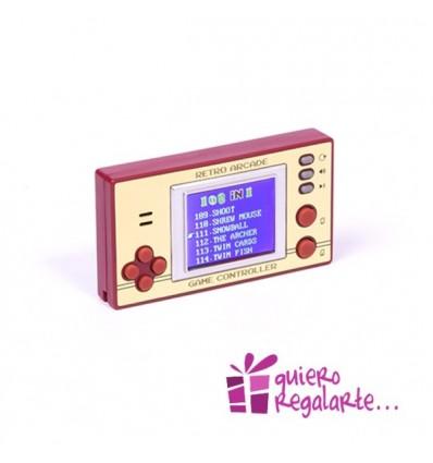 Video consola de bolsillo con juegos retro