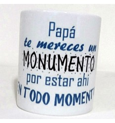 Taza para el dia del padre monumento