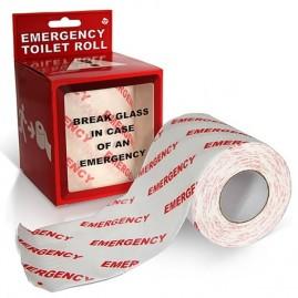 Papel higiénico emergencia