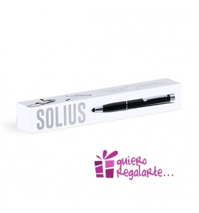 Boligrafo puntero y power bank