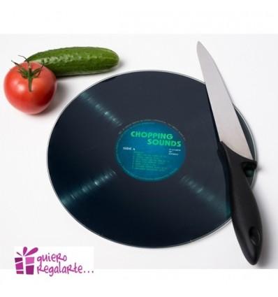 """Tabla de cortar """"disco de vinilo"""""""