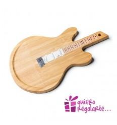 Tabla de cortar en forma de guitarra