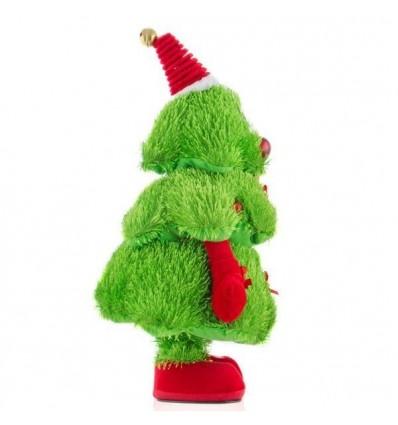 Arbol de navidad cantarín, bailarín y con luz.
