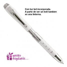 Bolígrafo con linterna