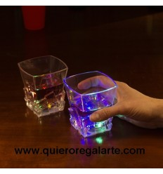 Vasos con luces de colores ( 2 uds. )