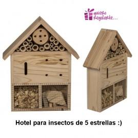Hotel para insectos