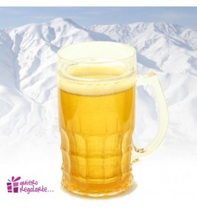 Jarra de cerveza para el congelador