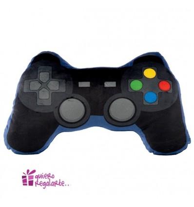 Cojín con forma de mando de videojuego