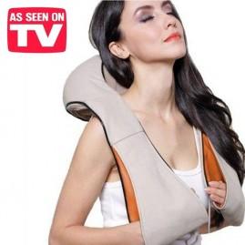 Masajeador eléctrico para cuello y hombros con calor