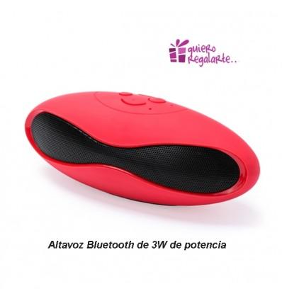 Altavoz bluetooth de diseño elegante