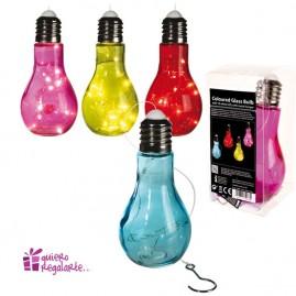 Bombillas decoración de colores con luces led