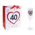 Copa Cava 50 Cumpleaños