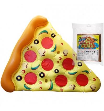 Colchoneta pedazo pizza