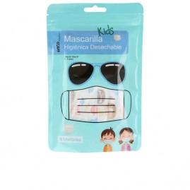 Mascarilla Higiénica Desechable infantil (5 piezas)